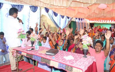 INDIA: 200 accept Christ in unreached village as many are miraculously healed and set free with Elijah Challenge worker
