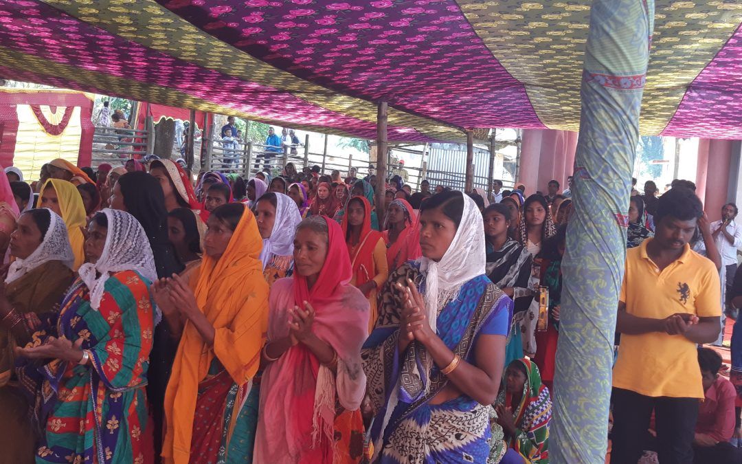 Over 500 souls accept Christ in Indian village as HUNDREDS HEALED in His name