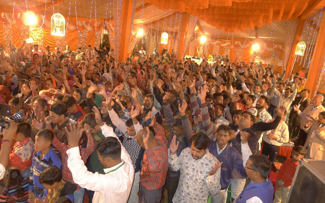 Over 320 Punjabis accept Christ at Elijah Challenge Gospel Event in North India; many miraculously healed