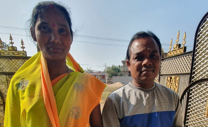 Devout Hindu who for years played instruments during temple worship miraculously healed alongside wife with thyroid condition; now boldly sharing the gospel