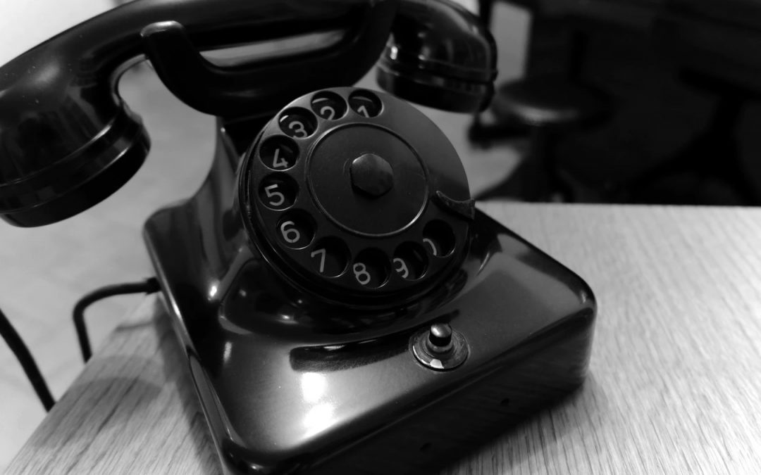 Are you using an old obsolete dial telephone? Of course not!  So why are you still…..?