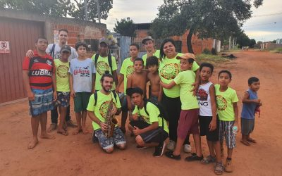 BRAZIL: Kids who once handed out drugs in slum area ruled by drug dealers now heal the sick there in Jesus' name