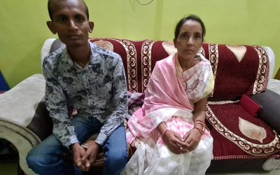 Wife of high caste Hindu couple impoverished after hiring sorcerers set free; couple accepts Jesus